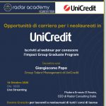 Terza tappa del Radar Career Tour: UniCredit Banca 17