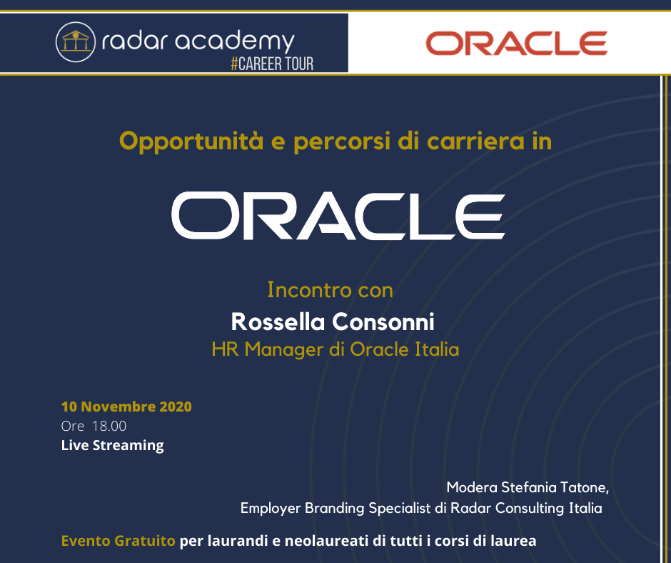 Career Day Oracle Italia 7